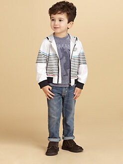 Armani Junior - Toddler's & Little Boy's Logo Jacket