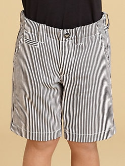 Armani Junior - Toddler's & Little Boy's Striped Shorts