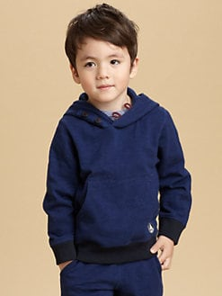 Petit Bateau - Toddler's & Little Boy's Hooded Sweatshirt
