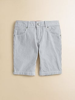 Petit Bateau - Toddler's & Little Boy's Striped Cotton Shorts