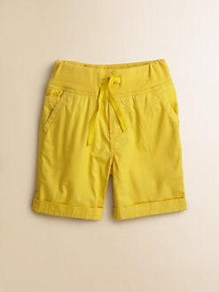 Petit Bateau - Toddler's & Little Boy's Cuffed Shorts