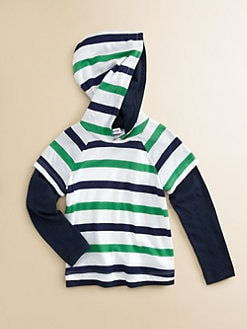 Splendid - Toddler's and Little Boy's Striped Hoodie