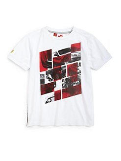 PUMA Ferrari - Toddler's & Little Boy's Ferrari Tee