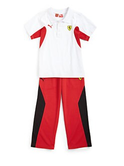 PUMA Ferrari - Toddler's & Little Boy's Ferrari Polo Shirt