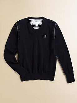 Diesel - Little Boy's Kansy V-Neck Sweater