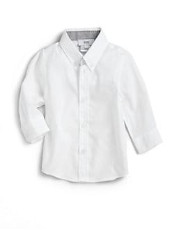 Hugo Boss - Toddler's Cotton Poplin Shirt