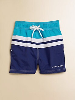 Hugo Boss - Toddler's Colorblocked Swim Trunks