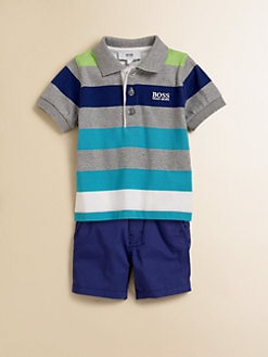 Hugo Boss - Toddler's Striped Jersey Polo