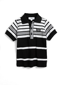 Hugo Boss - Toddler's Striped Pique Polo