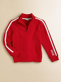 Hugo Boss - Little Boy's Fleece Track Jacket