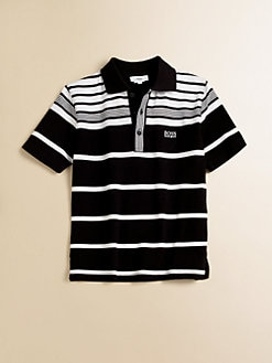 Hugo Boss - Little Boy's Striped Pique Polo