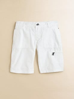 Hugo Boss - Little Boy's Poplin Cargo Shorts