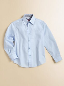 Hugo Boss - Little Boy's Cotton Poplin Shirt