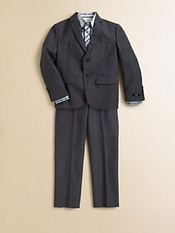 Hugo Boss - Little Boy's Linen-Blend Suit Jacket