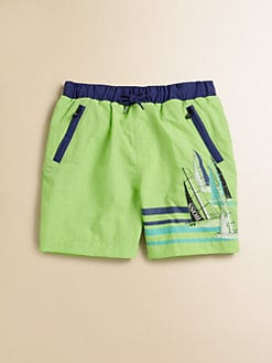 Hugo Boss - Little Boy's Regatta Swim Trunks