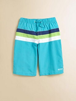 Hugo Boss - Little Boy's Colorblock Surfer Trunks
