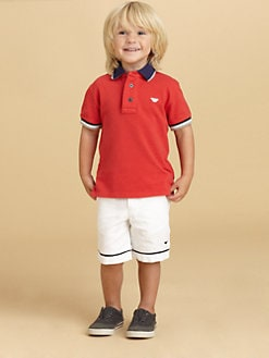 Armani Junior - Toddler's & Little Boy's Piped Shorts