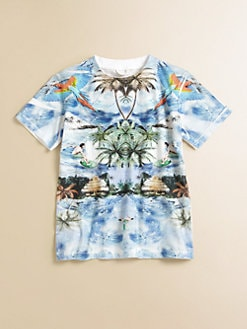 Stella McCartney Kids - Toddler's & Little Boy's Arlo Tropical Tee