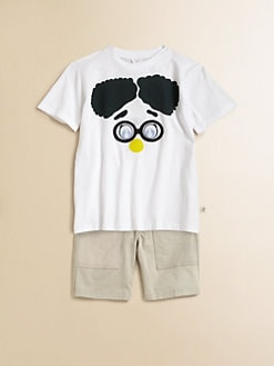Stella McCartney Kids - Toddler's & Little Boy's Glasses Tee
