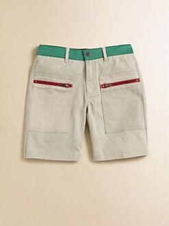 Stella McCartney Kids - Toddler's & Little Boy's Joe Colorblock Shorts