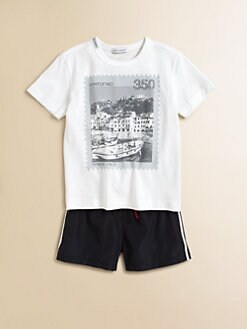 Dolce & Gabbana - Toddler's & Little Boy's Italy Stamp Tee