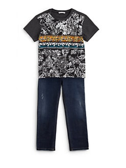Dolce & Gabbana - Toddler's & Little Boy's Graphic Cotton Tee
