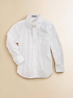 Hartstrings - Toddler's & Little Boy's Button-Down Oxford Shirt