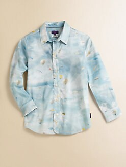 Paul Smith - Toddler's & Little Boy's Air Balloon Print Shirt