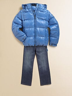 Add Down - Toddler's & Little Boy's Quilted Parka