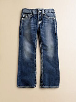 True Religion - Toddler's & Little Boy's Billy Super T Bootcut Jeans