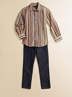 Paul Smith - Toddler's & Little Boy's Signature Striped Shirt