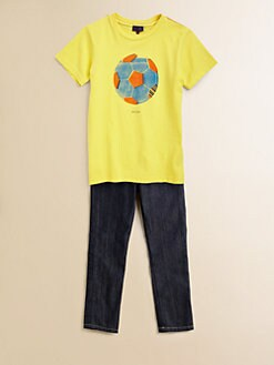Paul Smith - Toddler's & Little Boy's Soccer Ball T-Shirt