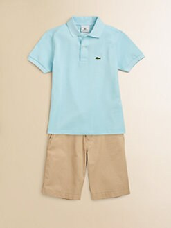 Lacoste - Toddler's & Little Boy's Classic Pique Polo Shirt