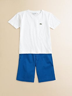 Lacoste - Toddler's & Little Boy's Classic Jersey Tee