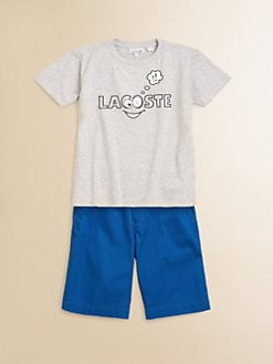 Lacoste - Toddler's & Little Boy's Googly-Eyed Tee
