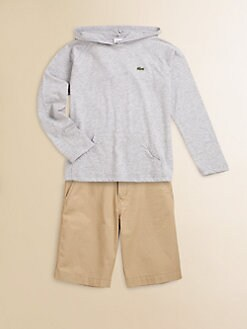 Lacoste - Toddler's & Little Boy's Jersey Hoodie