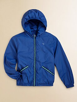 Lacoste - Toddler's & Little Boy's Packable Nylon Windbreaker