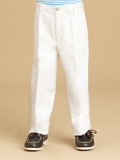 Oscar de la Renta - Little Boy's Twill Trousers