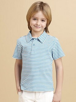 Oscar de la Renta - Toddler's & Little Boy's Striped Jersey Polo