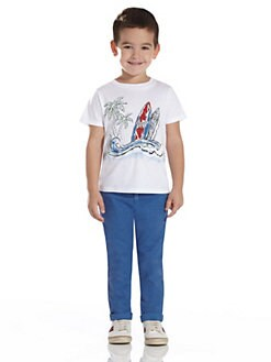 Gucci - Little Boy's Surfboard Tee
