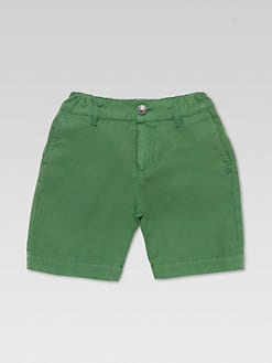 Gucci - Little Boy's Gabardine Bermuda Shorts