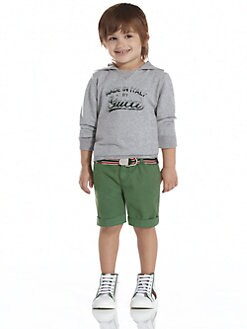 Gucci - Little Boy's Cotton Jersey Hoodie