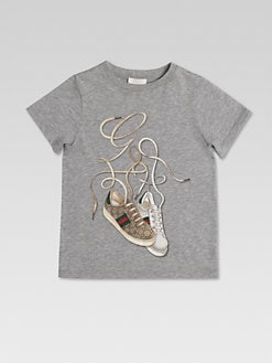 Gucci - Little Boy's Gucci Sneakers Tee