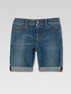 Gucci - Little Boy's Denim Bermuda Shorts