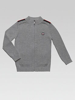 Gucci - Toddler's & Little Boy's Zip-Front Sweater
