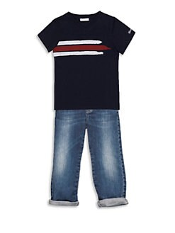 Gucci - Toddler Boy's Signature Web Tee
