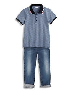 Gucci - Little Boy's GG Polo Shirt
