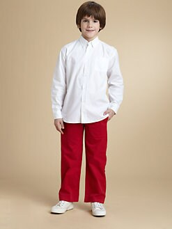 Oscar de la Renta - Toddler's & Little Boy's Solid Dress Shirt