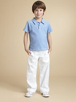 Oscar de la Renta - Toddler's & Little Boy's Pique Polo