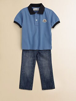 Moncler - Toddler's & Little Boy's Polo Shirt